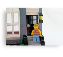Lego Porch Metal Print