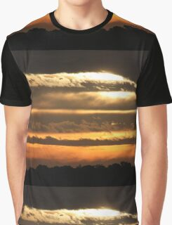 Stormy over Jersey Graphic T-Shirt