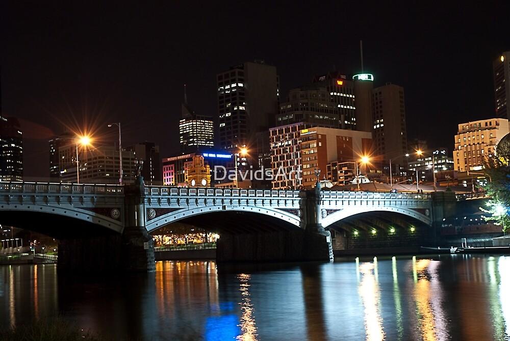 Melbourne at night 07 [r] by DavidsArt