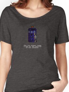Time And Relative Pixels: Seventh Doctor Women's Relaxed Fit T-Shirt