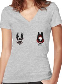 ODST - UNSC Shock Troopers Women's Fitted V-Neck T-Shirt