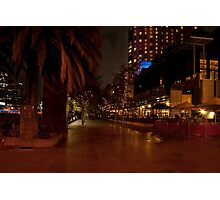 Melbourne at Night 03 [r] Photographic Print