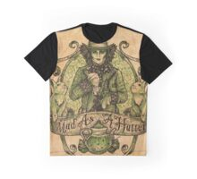 Mad As A Hatter Graphic T-Shirt