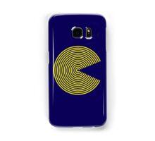 Striped PacMan Samsung Galaxy Case/Skin