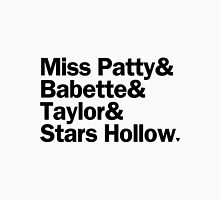 Gilmore Girls - Miss Patty & Babette & Taylor & Stars Hollow | White Unisex T-Shirt