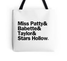 Gilmore Girls - Miss Patty & Babette & Taylor & Stars Hollow | White Tote Bag