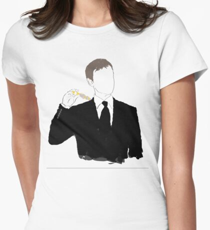 Doctor Who - the Master graphic tee Womens Fitted T-Shirt