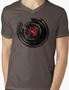 Vinylized! - Vinyl Records - New Modern Vinyl Records T Shirt Mens V-Neck T-Shirt