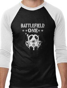 Battlefield one Gas Mask Men's Baseball ¾ T-Shirt