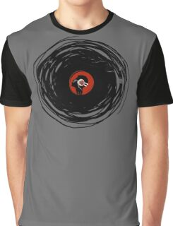 I'm spinning within with a vinyl record... GRUNGE TEXTURE Graphic T-Shirt
