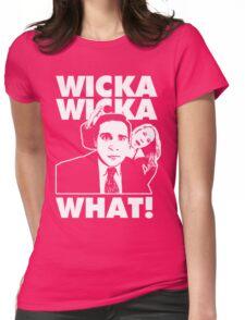 MC Michael Scott & DJ Jazzy Flax Womens Fitted T-Shirt