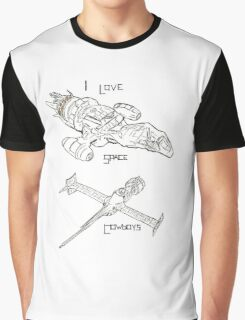 Space Cowboys  Graphic T-Shirt