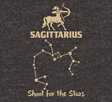 Sagitarius Quotes - Shoot For The Stars Unisex T-Shirt