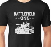 Battlefield one Tanks Unisex T-Shirt
