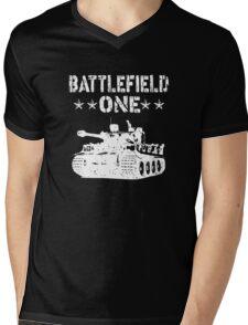 Battlefield one Tanks Mens V-Neck T-Shirt