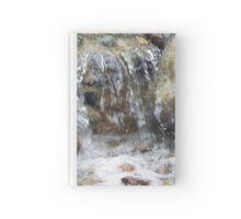 Serene Waterfall Hardcover Journal