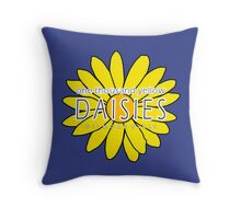 Gilmore Girls - One Thousand Yellow Daisies Throw Pillow