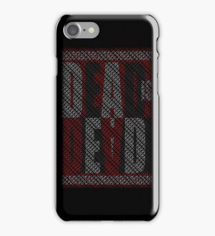 Dead Is Dead (Typography) iPhone Case/Skin