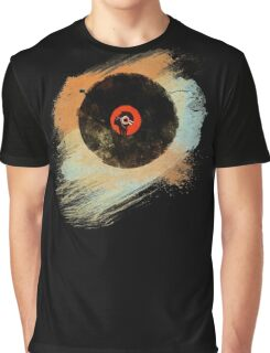Vinyl Record Retro T-Shirt - Vinyl Records New Grunge Design Graphic T-Shirt