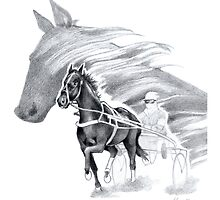 Trotting Up A Storm by Patricia Howitt