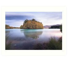 Lake Ruataniwha - Mackenzie Country Art Print