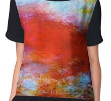 """Abstract...The """"Typhon"""" Chiffon Top"""