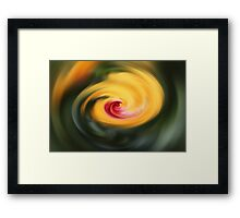 Abstract From Hibiscus  Framed Print