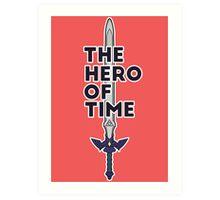 The Hero of Time Art Print
