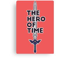 The Hero of Time Canvas Print
