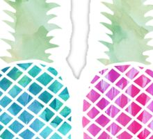 Watercolor Pineapples Sticker