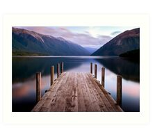 Lake Rotoiti - Nelson Lakes - New Zealand Art Print