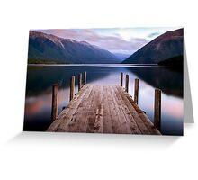Lake Rotoiti - Nelson Lakes - New Zealand Greeting Card