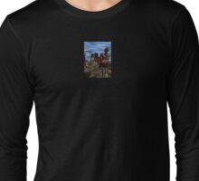 Where's Daddy? Harbor Island, Bahamas Long Sleeve T-Shirt