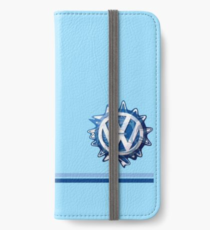 VW Classic Swirl and lines  iPhone Wallet/Case/Skin