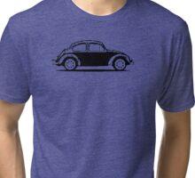 VW 1961 Beetle - Black Tri-blend T-Shirt