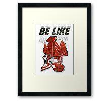 Be Like Mike - 2016 Framed Print