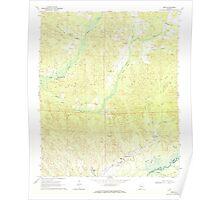 USGS TOPO Map Alabama AL Kirk 304343 1970 24000 Poster