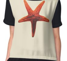 The Starfish - Starfish Painting Summer Tote Pillow Notebook Bags Chiffon Top