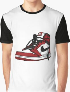 "Air Jordan 1 ""CHICAGO"" Graphic T-Shirt"
