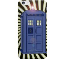 TARDIS CLASSIC VORTEX 1 iPhone Case/Skin