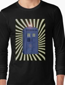 TARDIS CLASSIC VORTEX 1 Long Sleeve T-Shirt