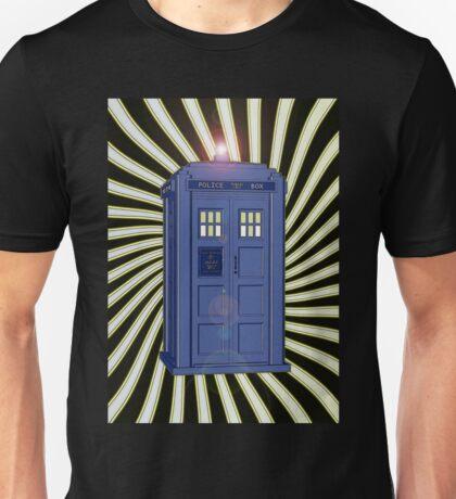 TARDIS CLASSIC VORTEX 1 Unisex T-Shirt