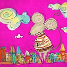 Urban Mouse - Magenta by catru