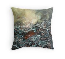 An Interpretation of Genesis Throw Pillow