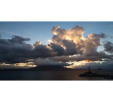 Vesuvius Cloud Eruption  Photographic Print