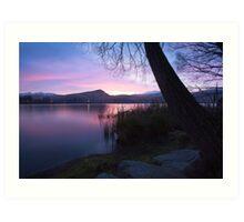 Lake Hayes - Queenstown - New Zealand Art Print