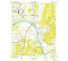 USGS TOPO Map Alabama AL Farley 303817 1950 24000 Photographic Print