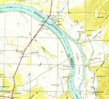 USGS TOPO Map Alabama AL Farley 303817 1950 24000 Sticker
