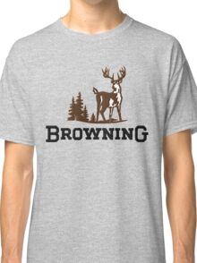 Browning Firearms Logo Classic T-Shirt