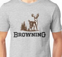 Browning Firearms Logo Unisex T-Shirt